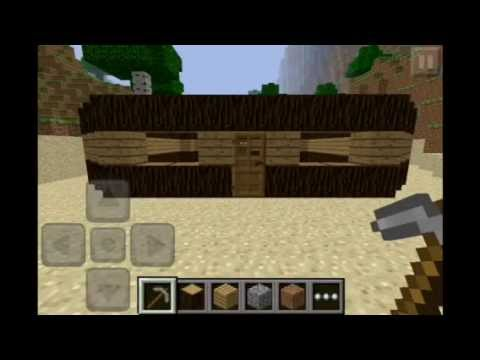 how to build a simple house in minecraft pe