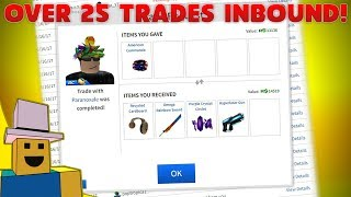 ROBLOX Trading | Reviewing Inbound Trades!!!