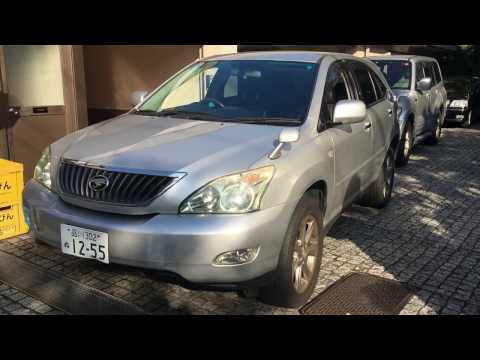 Leather Trim - 2008 Toyota Harrier AirS Tokyo Japan