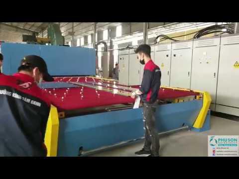 Chuyển giao Dây chuyền tự động sản xuất kính cường lực FULL-TIME tại nhà máy TAM OANH GLASS.