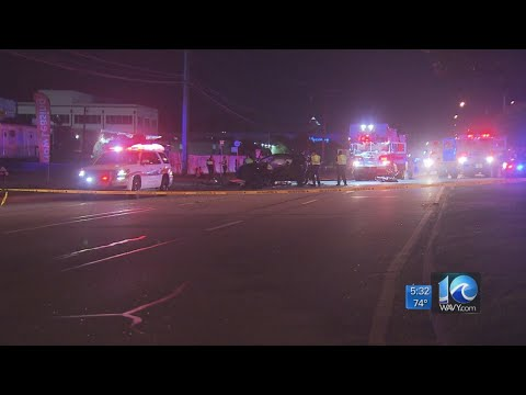 Motorcyclist Killed, Two With Serious Injuries After Crash On Virginia Beach Blvd.