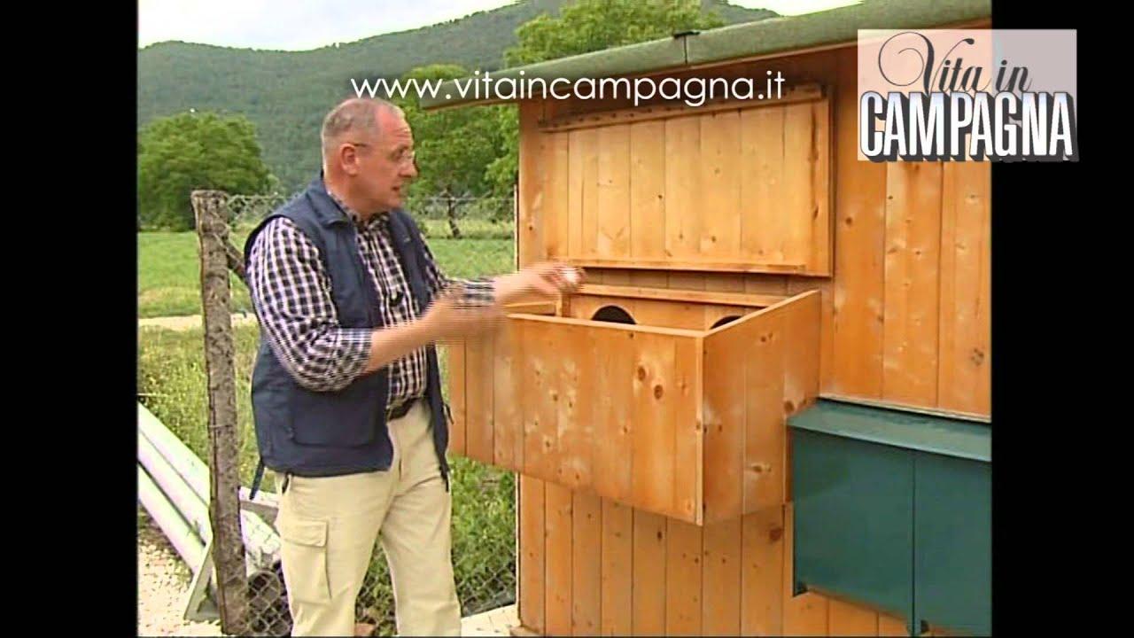 I nidi per le galline ovaiole youtube for Recinto giardino fai da te