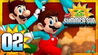 New Super Mario Bros. Summer Sun - Part 2 (4 Player)