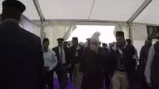 Hazoor playing Archery