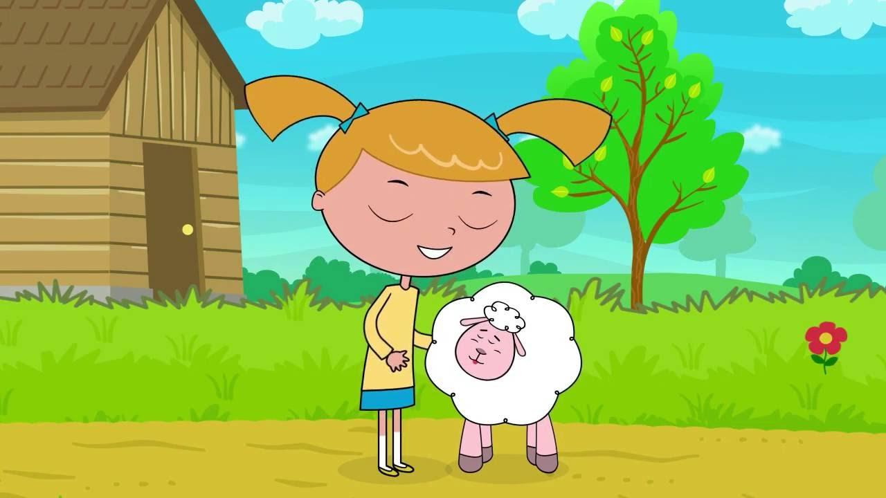 Mery miala mala owce - Piosenki dla dzieci bajubaju tv