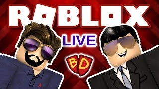 🔴 Roblox Live | Welcome to Bloxburg and Deathrun | Ben and Dad