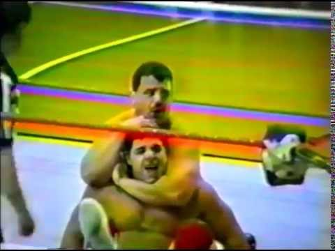NEWF 5171992: Dino Bravo vs. Richard Charland