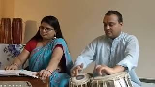nepali bhajan- aja vandai voli vandai by hari maya adhikari & sagar khatiwada