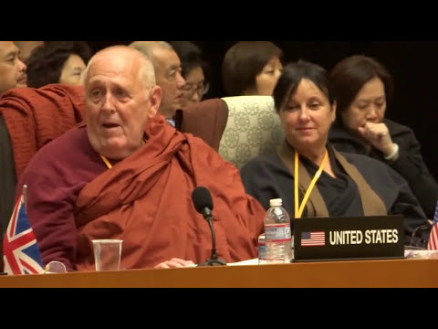 6th World Buddhist Summit with Bhante Vimalaramsi from USA