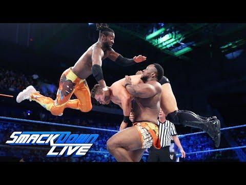 The New Day vs. The Miz, Samoa Joe & Rusev: SmackDown LIVE, June 5, 2018