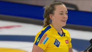 Semifinal 2 - 2021 LFG World Womens Curling - Hasselborg (SWE) vs. Kovaleva (RCF)