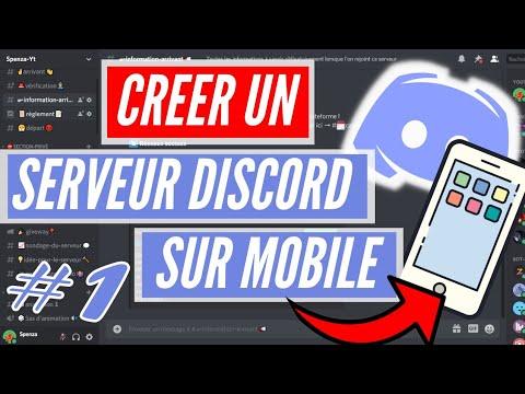 Créer Un Serveur Discord De A à Z Sur Mobile ! [2021] [FR] #1 Création Des Rôles