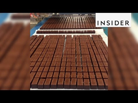 Step inside the La Maison du Chocolat factory, which produces thousands of chocolates daily