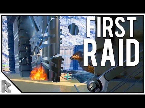 WE'RE BACK! First Raid BACK! - Ark Survival Evolved Shigo Islands PVP #20