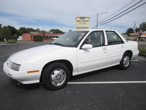 SOLD 1996 Chevrolet Corsica 120K Miles Meticulous Motors Inc Florida For Sale