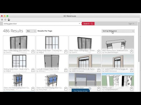 3D Warehouse: Searching and Downloading - YouTube