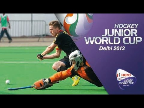 Belgium vs Egypt - Men's Hero Hockey Junior World Cup India Groups Stage [07/12/2013]