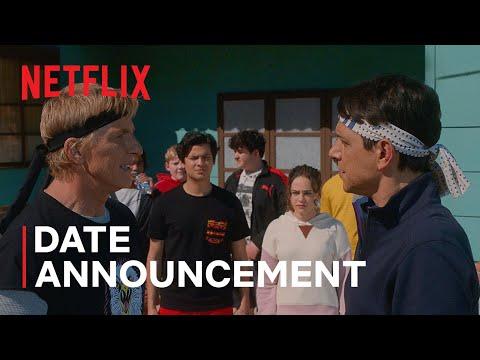Cobra Kai: Season 4   Date Announcement   Netflix