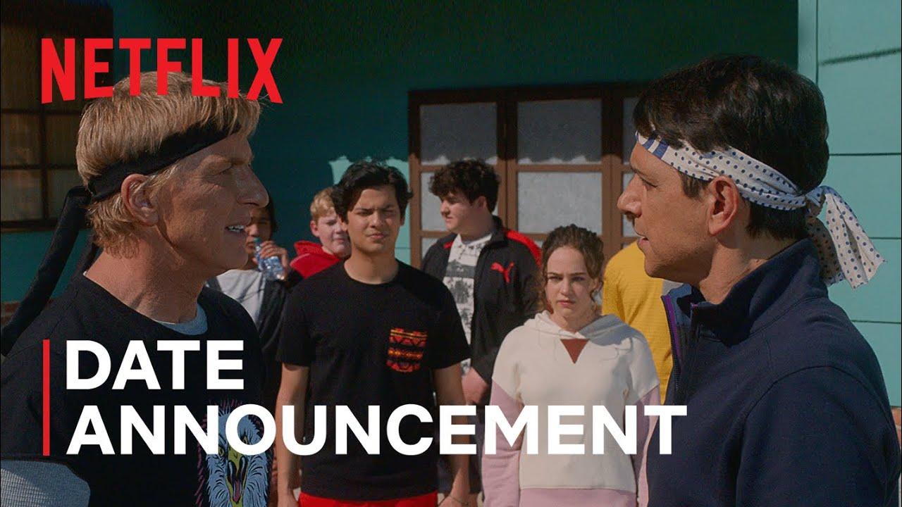 Download Cobra Kai: Season 4 | Date Announcement | Netflix
