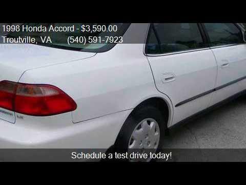 1998 Honda Accord LX 4dr Sedan for sale in Troutville, VA 24