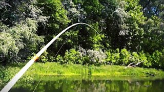 Рыбалка на джиг в мае Щука стоит на ямах