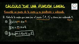 (Funciones) - Cálculo de una Función L...