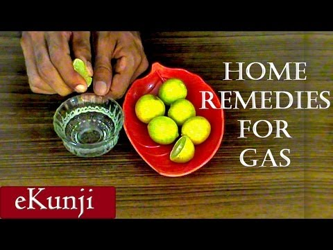 Home Remedies For Gas Bloating Flatulence - 100% Natural Way