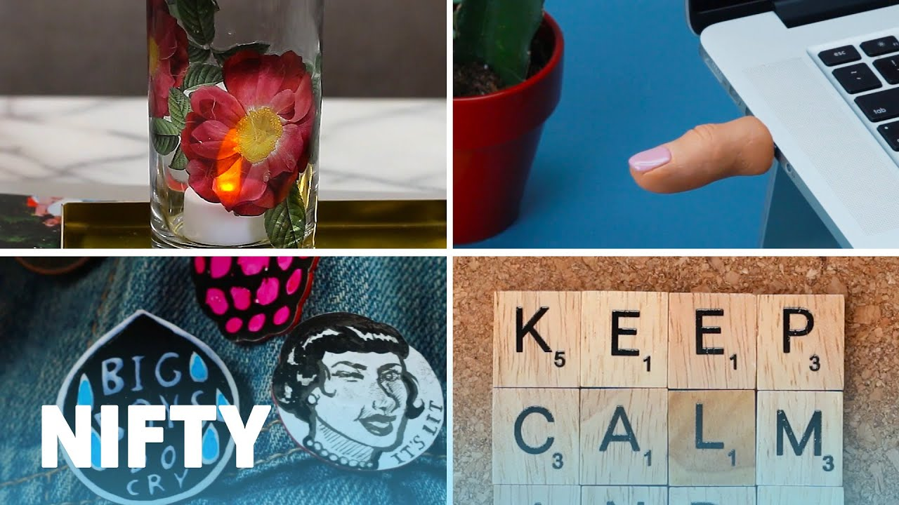 11 Easy Diy Crafts For Your Home And Office Youtube