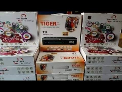 New Receivers For Sales Starsat xtreme 2000 Tiger t8 class v2 All Available  by Saeed Online