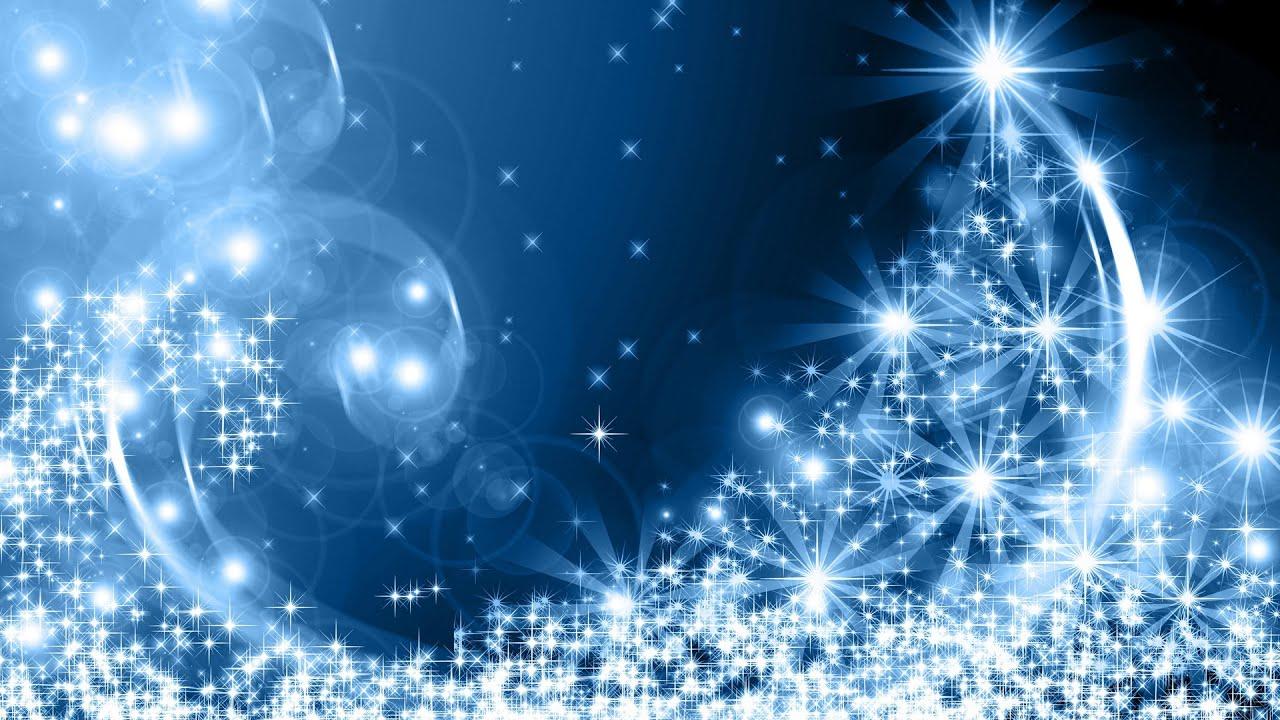Праздничный синий фон