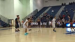 Dylan Kaufman basket plus the foul