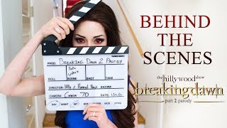 The Making of Breaking Dawn Part 2 Parody by The Hillywood Show.Пародия на Сумерки.