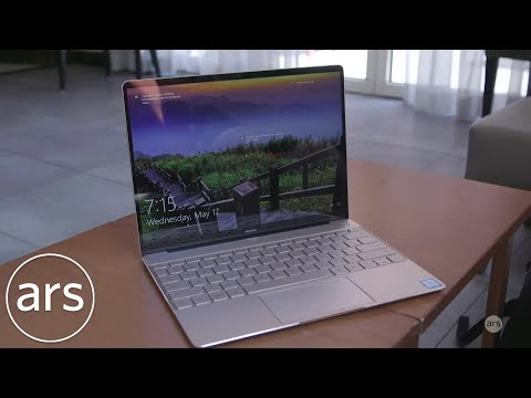 Hands-on with the Huawei Matebook X | Ars Technica