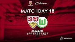 18. MATCHDAY #VBL #VfB vs. VfL