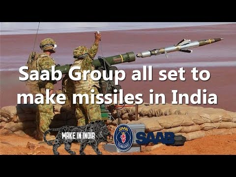 Swedish defence manufacturer Saab Group all set to make missiles in India