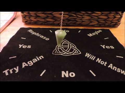 Ask the pendulum questions!