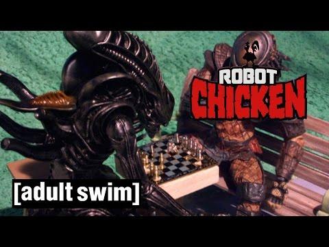 The Best of Alien | Robot Chicken | Adult Swim