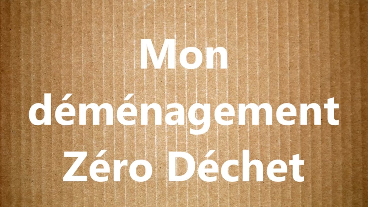 demenagement zero dechet