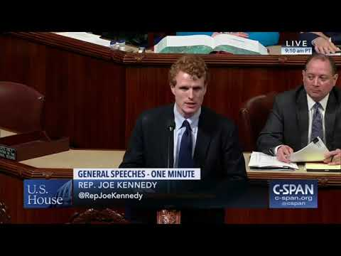 Rep. Joe Kennedy III protests 'zero tolerance' immigration policy at Texas border