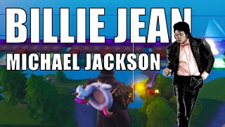 Billie Jean - Michael Jackson [POP music recreated in Fortnite Music Pads][Code in description]