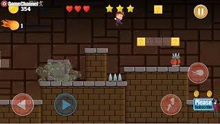 Super Louis Jungle Adventure 2 Platform Games Android Gameplay Video #5
