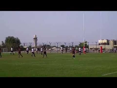 UAE Conference:Two tries in two minutes