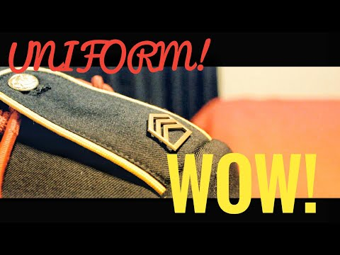 JROTC UNIFORM! TUTORIAL!