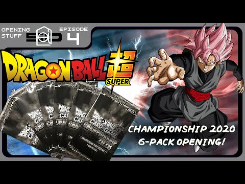 Dragon Ball Super Championship 2020: 6 Pack Card Opening |