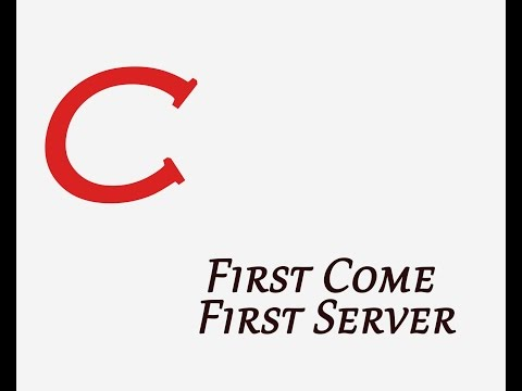 OS - First Come First Serve