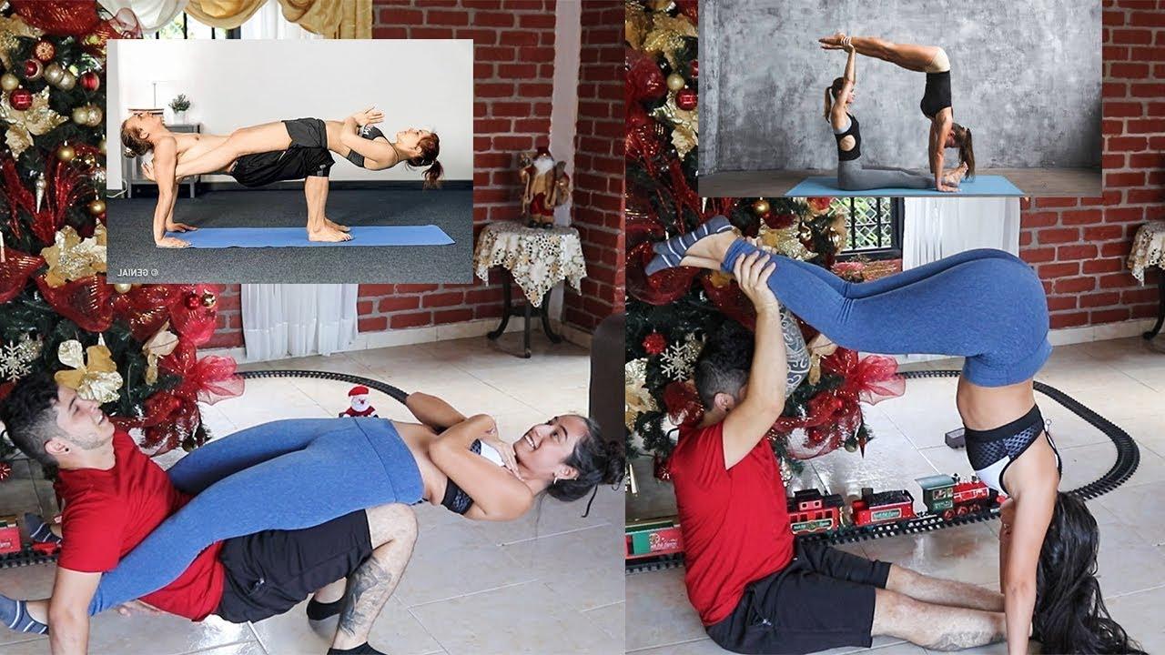 POSICIONES CON TU PAREJA  (Yoga Challenge) | Valen & Franco