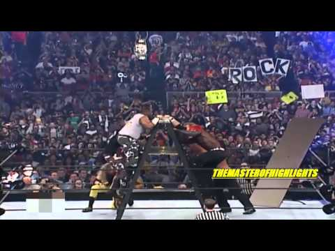 The Hardy Boys VS Edge & Christian VS The Dudley Boyz Wrestlemania 17 Highlights [HD]