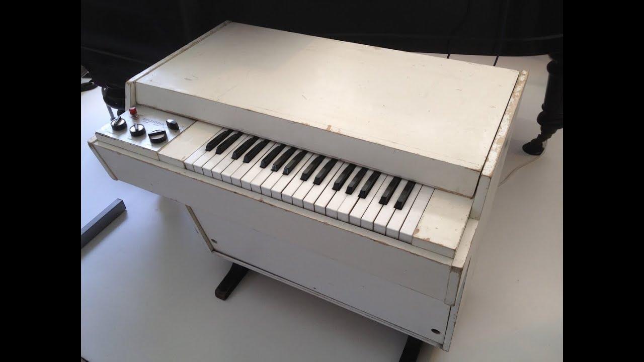 Mellotron sound samples