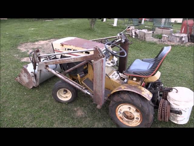Sears Ss16 Twin Lawn Tractor | Sears Lawn Tractors: Sears