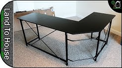 Ulikit L shaped computer Desk